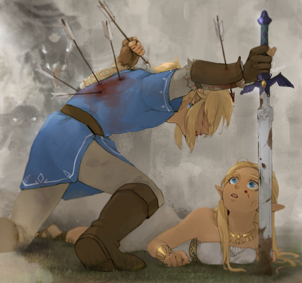 Надо защитить Зельду...