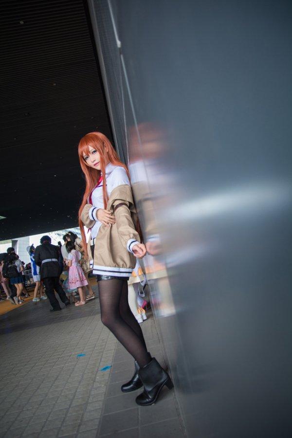 Makise Kurisu Cosplay by Solaco