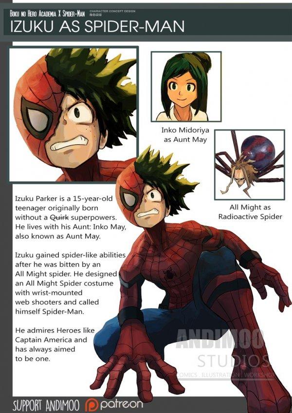 Герои аниме в Мстителях войны бесконечности
