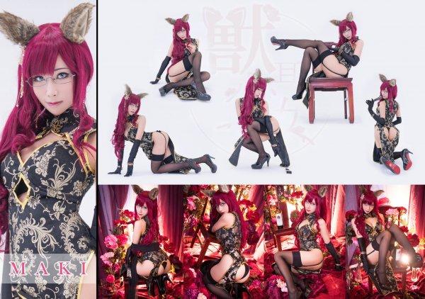 Kemonomimi Maki Cosplay by HaneAme