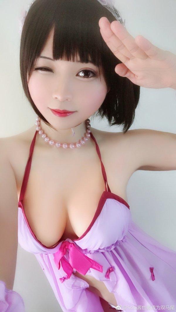 Saekano Cosplay by Sola酱也要成为双马尾