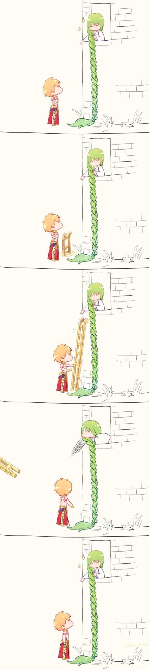 Rapunzel(crossover)