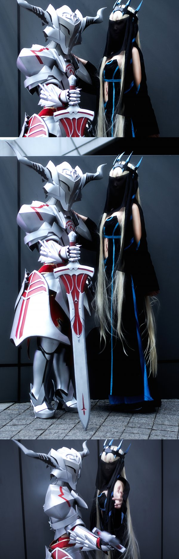 Morgan le Fay and Mordred Cosplay