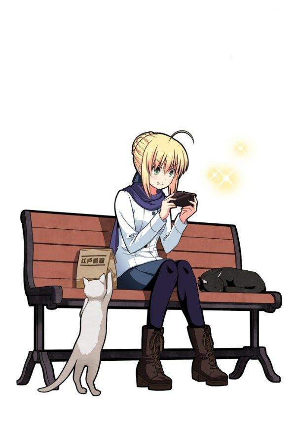Артурия и кошки