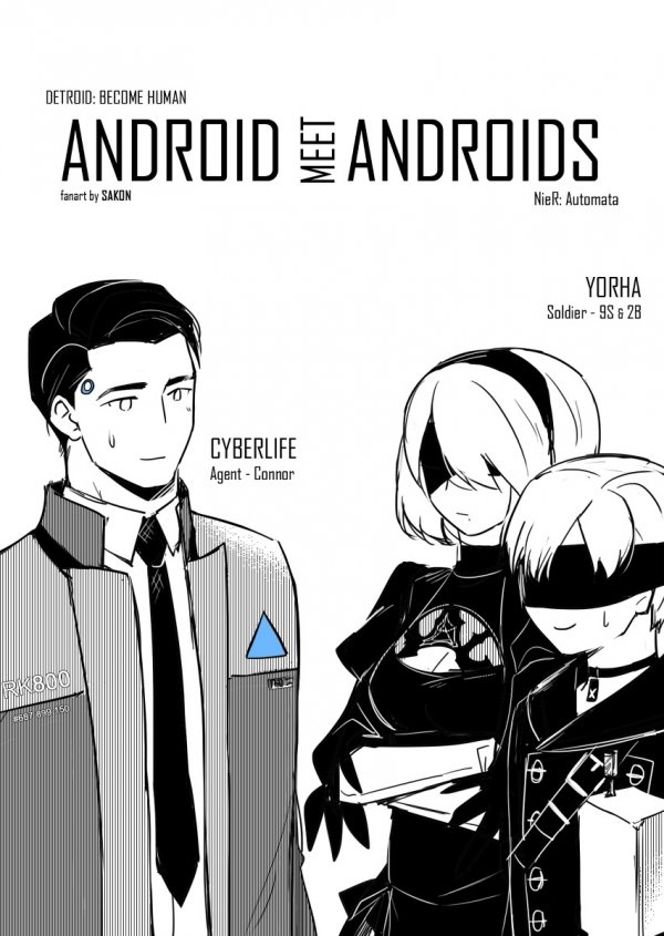 Android meet Androids