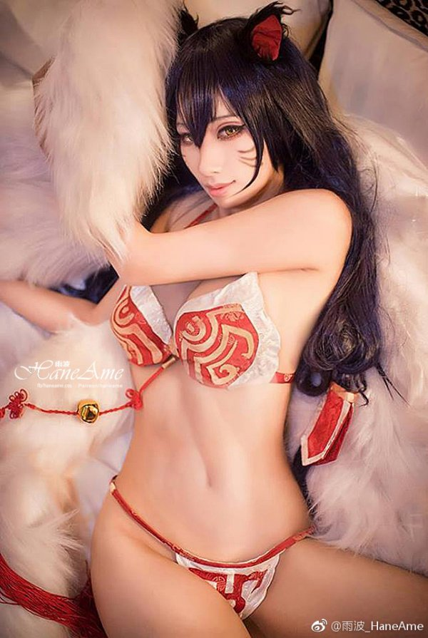 Ahri Cosplay by Hane Ame