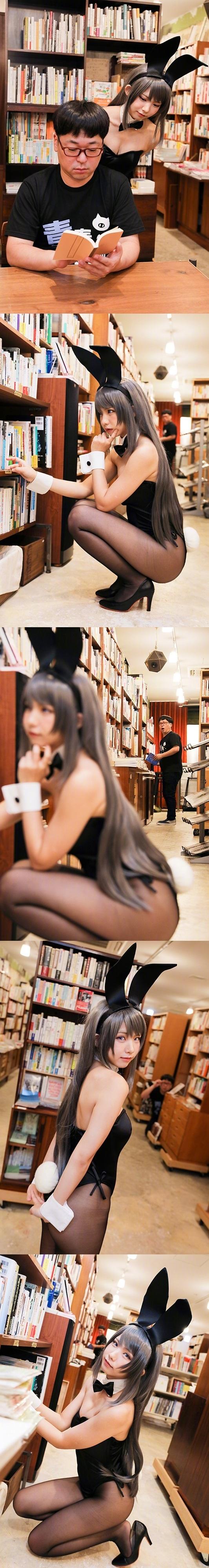 Seishun Buta Yarou wa Bunny Girl Senpai no Yume o Minai Cosplay by Enako