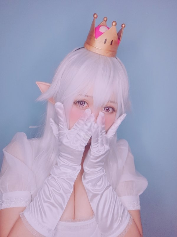 Princess King Boo an Bowsette Cosplay by 黑猫猫