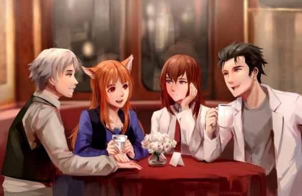 Встретились как-то раз в кафе