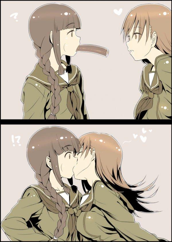 Вот это... поцелуй!