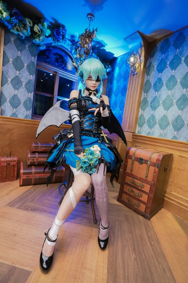 Halloween Sinon Cosplay by Ely