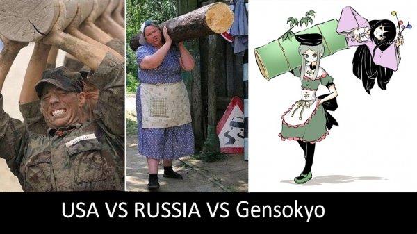 Gensokyo girl power