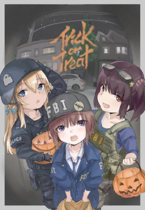 Веселый Хеллоуин