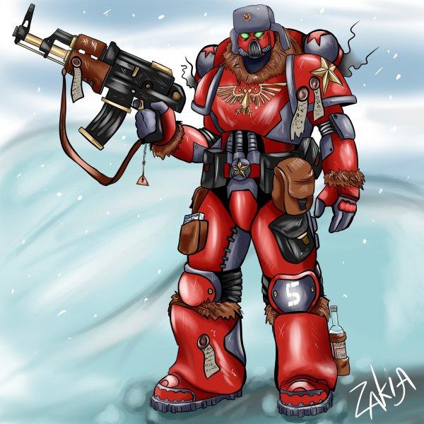 Commie marine