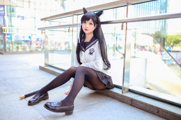 Atago Cosplay by Solaco