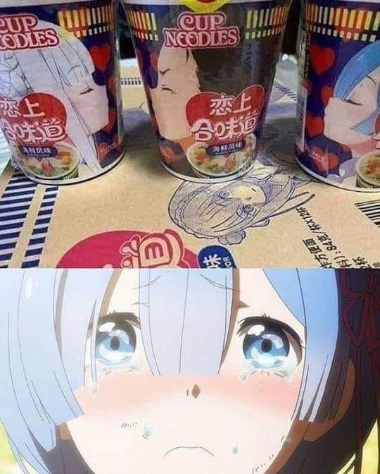 Even life doesn't ship Rem