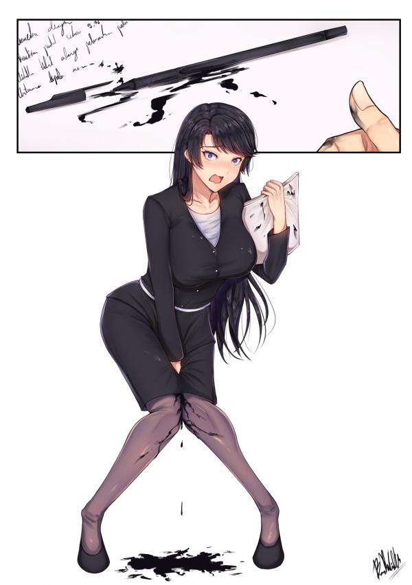 Ручка протекла