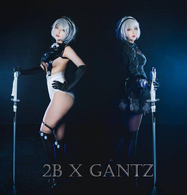 2B X Gantz Cosplay by Hiroko Akutagawa