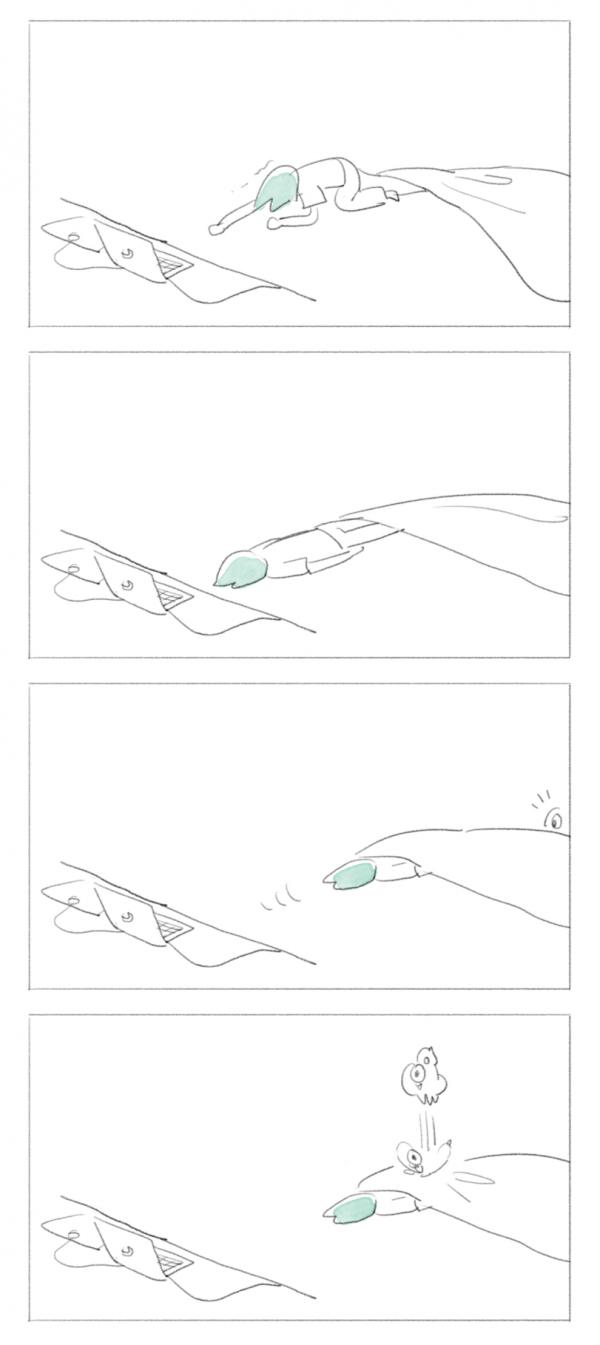 Одеяло, отпусти!