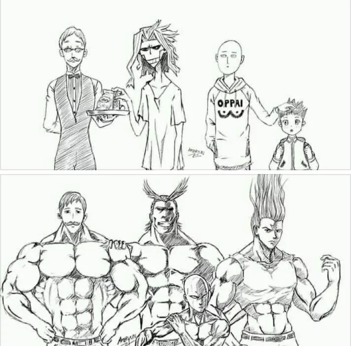 До и после принятия аскорбинки