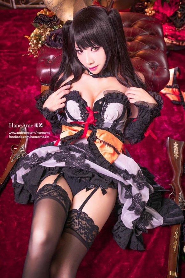 Tokisaki Kurumi Cosplay by Hane Ame