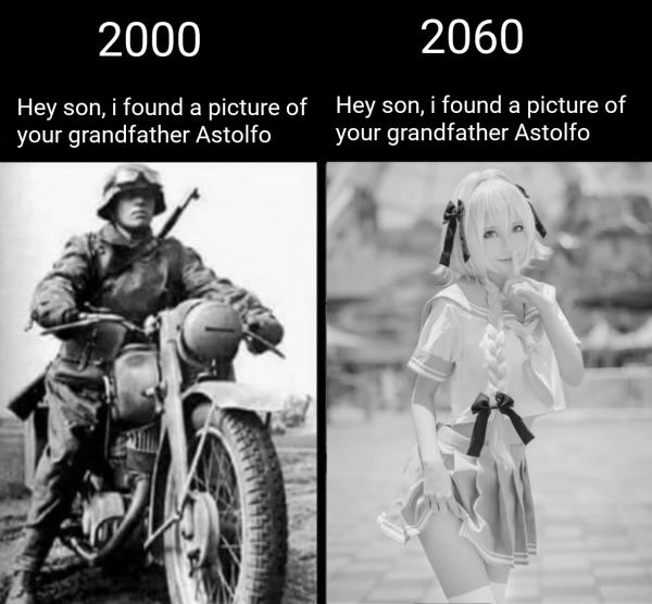 Сынок, я нашел фото твоего дедушки
