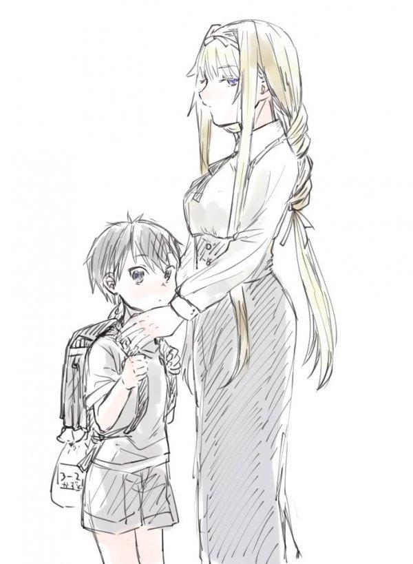 Заботливая мама