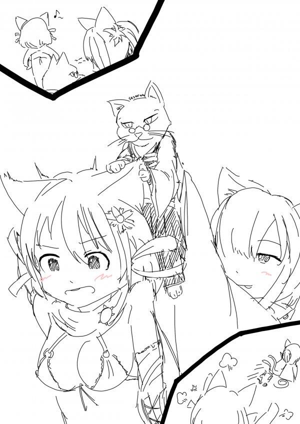 Трогая кошачьи ушки