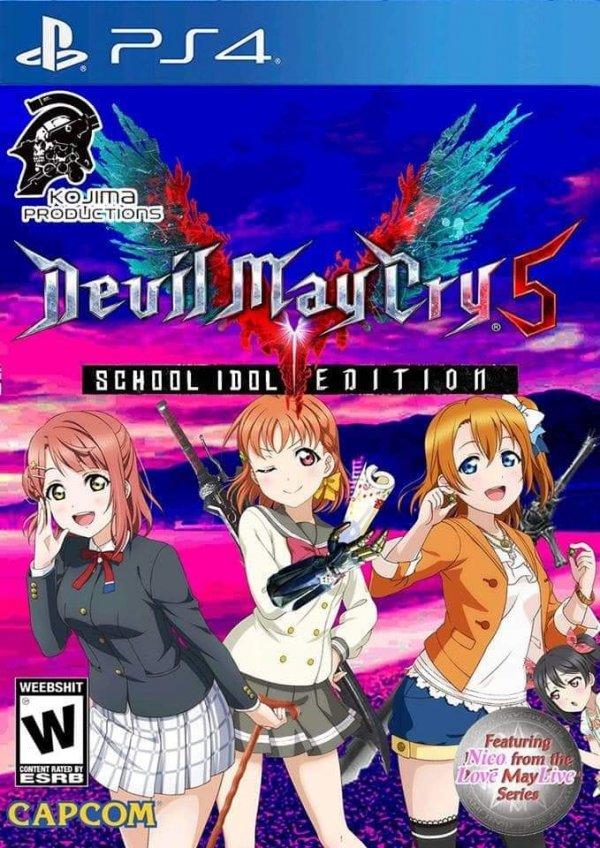 Devil May Cry 5 (School Idol Edition)