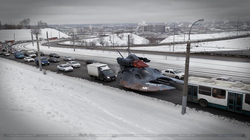 Космические корабли ксеносов в России
