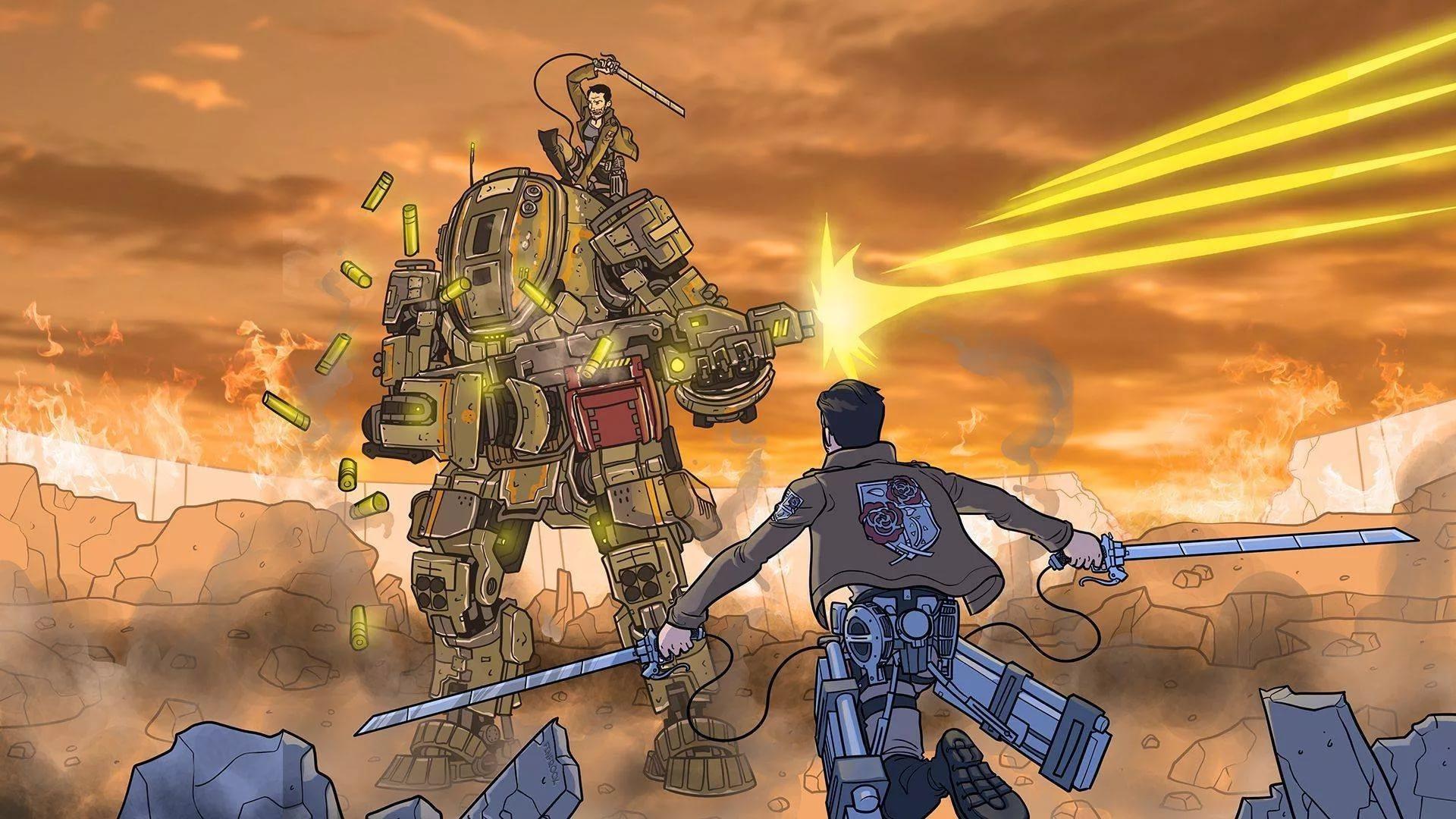 Когда твой Титан остался без электродыма.