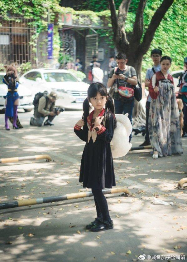 Китайский детский косплей