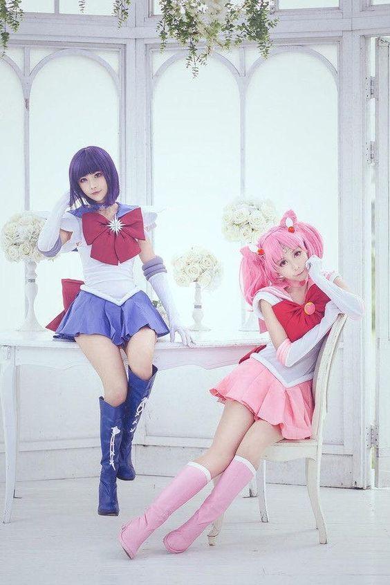Разный косплей SailorMoon
