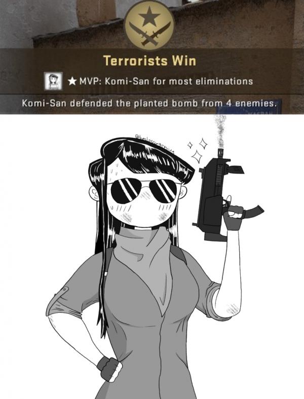 Komi-san MVP