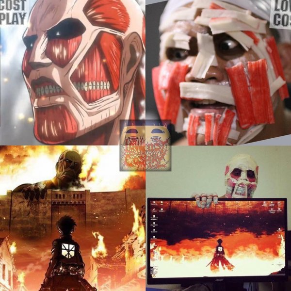 Attack on Titan (lowcost cosplay)