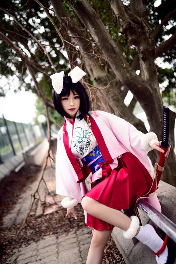 Ryougi Shiki Cosplay by Solaco