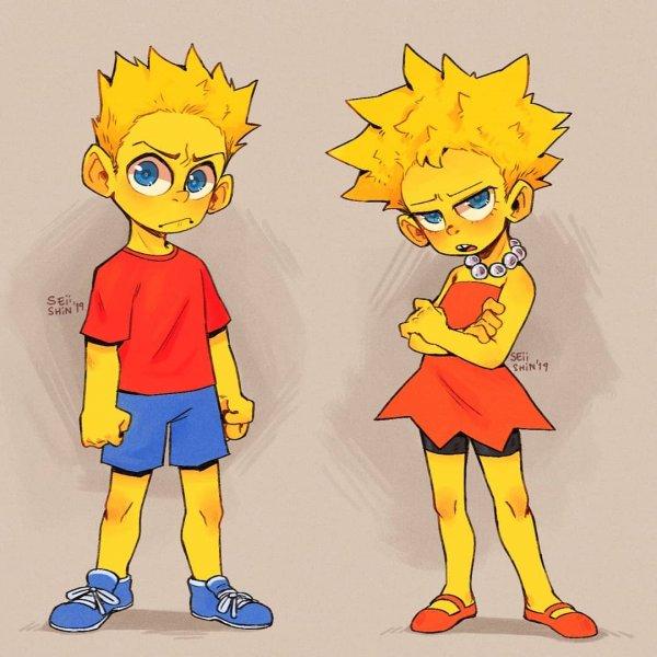Барт и Лиза