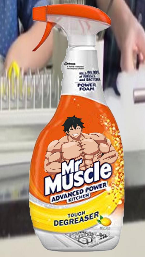 Mr.Muscle на анимешный лад