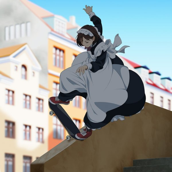 Skater-maid by Suzushiro
