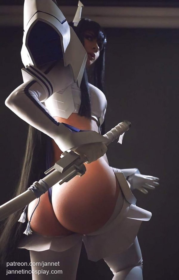 Satsuki Kiryuin Cosplay by Jannet