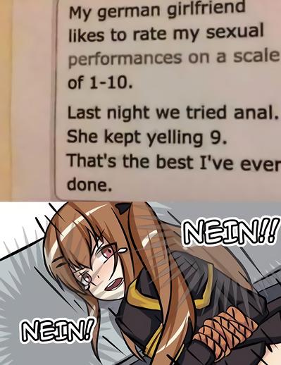 Nein ≠ Nine