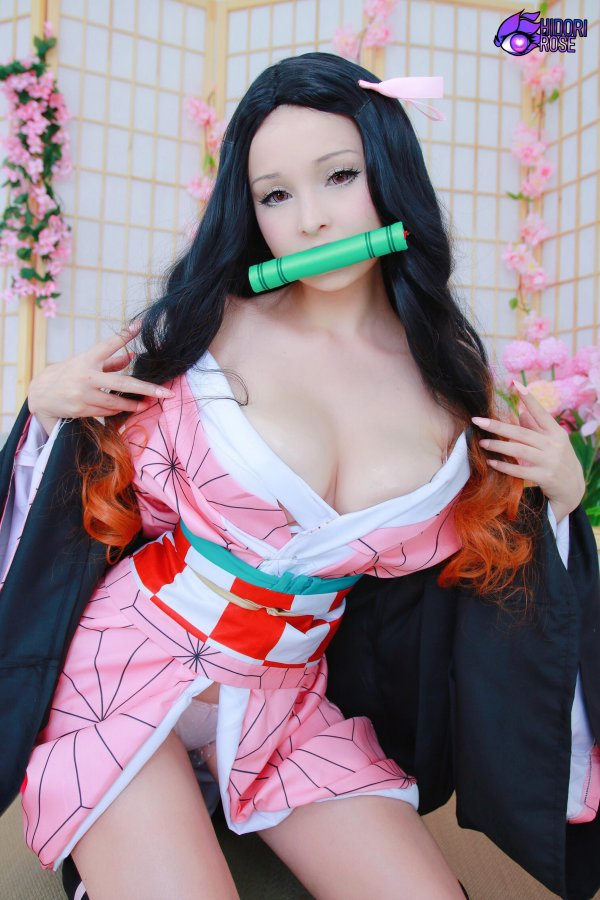 Nezuko cosplay by Hidori Rose