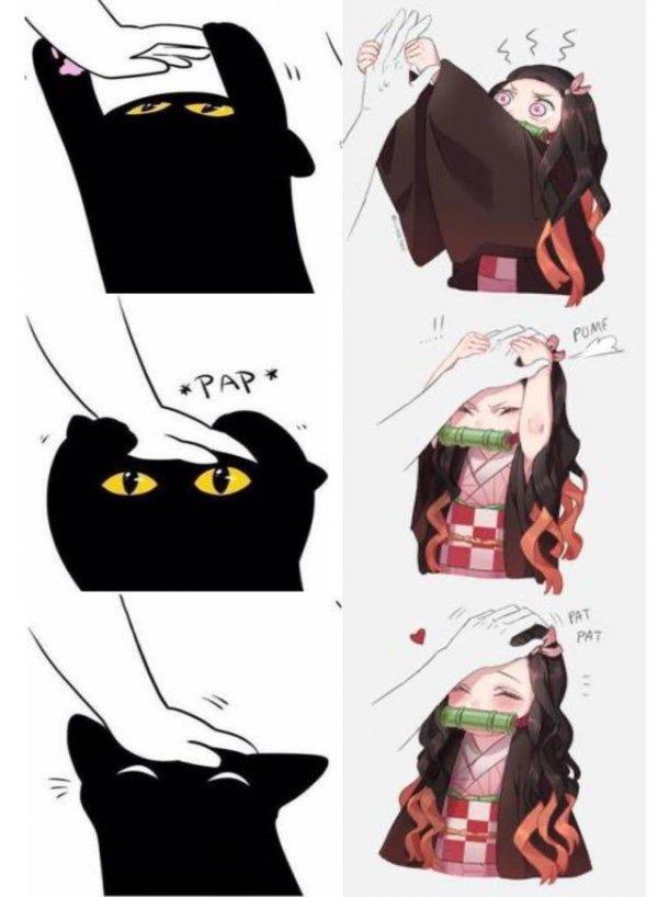 Котик или Незуко?