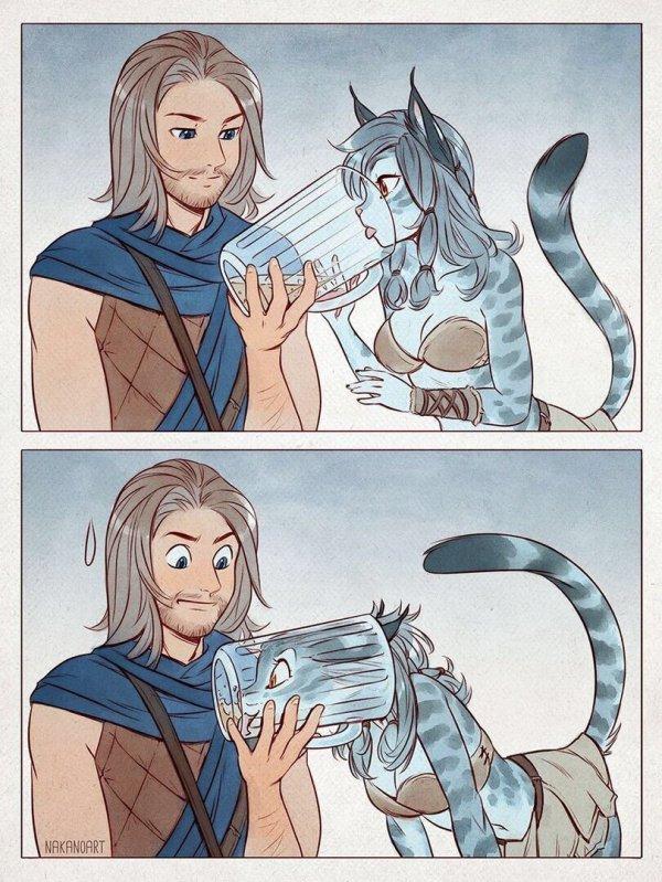 Кошачья грация