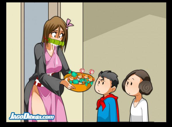 Хэллоуин и сладости
