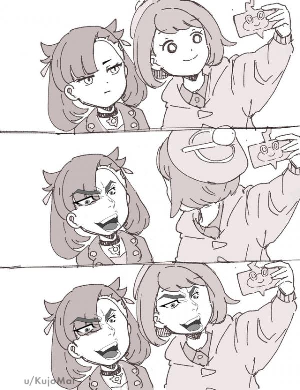 Pokemon selfie meme