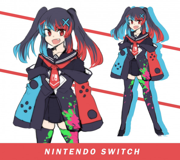 Nintendo Switch-chan