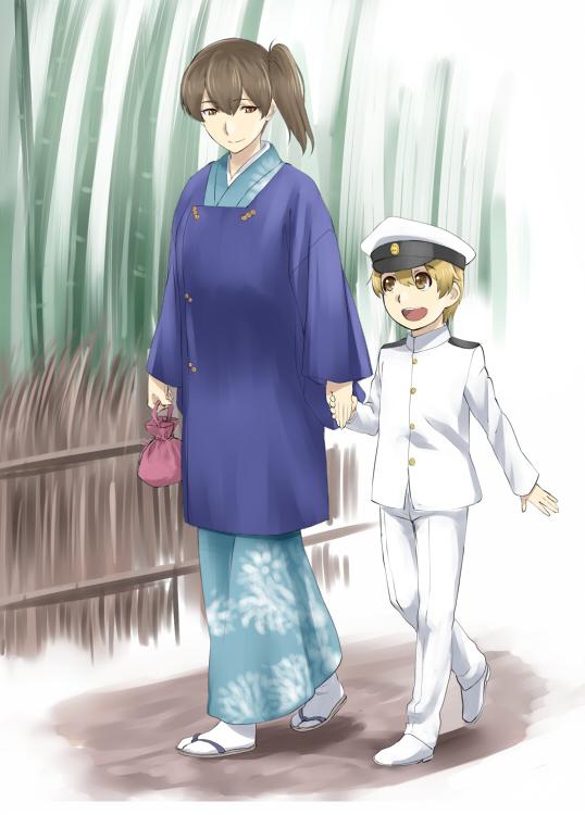 Кага и маленький адмирал
