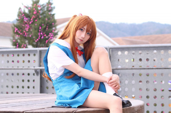 Asuka Langley Cosplay by aschaxx1021