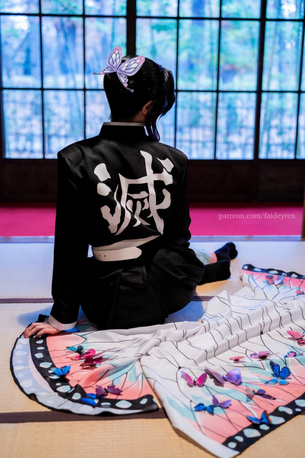 Наш косплей Kochou Shinobu в Токио, и рассказ про то как он делался и прочее закулисье.